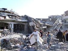 "Photo 2009 Rafah Refugee Camp, Gaza Strip ""Fleeing After Israeli Bombardment"""