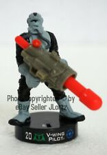 Star Wars Attacktix V-Wing Pilot Battle Figure Series 1 SW-10 Hasbro 2005