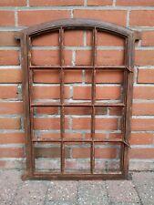 seltenes altes Eisenfenster - komplett zum öffnen - Rostfinish - anno