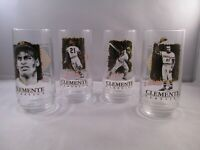1994 Eat' n Park Roberto Clemente Classics Drinking Glass.set of 4