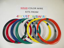 18 TXL HIGH TEMP AUTOMOTIVE WIRE 8 SOLID COLORS 25 FEET EACH 200 FEET TOTAL