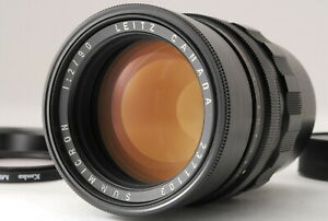 *NEAR MINT* Leica Leitz Summicron M 90mm F/2 MF Black Canada Made Lens #JAPAN#