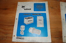 Bobcat 201 Midmark Walk Behind Trencher Parts Manual shop book owner spare list