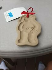 1990 Brown Bag Cookie Art Mold Retired Hill Design Christmas Orig Book