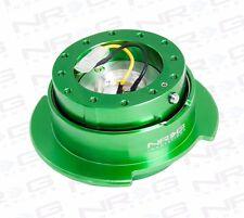 NRG Steering Wheel GEN 2.5 QUICK RELEASE Kit (GREEN Body / GREEN Ring)