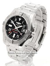 Breitling Armbanduhren im Luxus-Stil mit Datumsanzeige für Herren