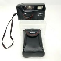 Nikon Fun Touch 2 Auto Focus Camera 35 MM Film Point And Shoot With Case Photo