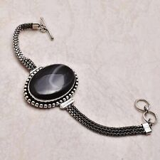 Bracelet 27 Gms Ab 45545 Botswana Agate Ethnic Gift Jewelry Handmade