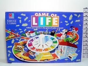 Vintage Original Game Of Life Board Game  MB Games  Complete  1997 V.G Condition