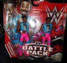 Kofi Kingston Xavier Woods Nuevo día WWE figura Nuevo Sellado 2 Paquete De Batalla
