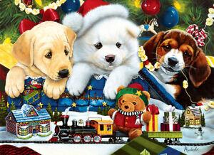 Master Pieces- Toyland Pups 1000 PC Puzzle