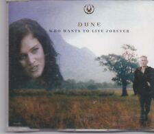 Dune-Who Wants To Live Forever promo cd single