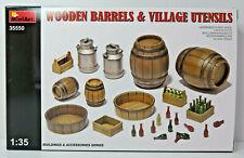 Holzfässer, Kannen, Wannen, Flaschen, Bausatz, MiniArt,1:35,OVP,35550,NEU