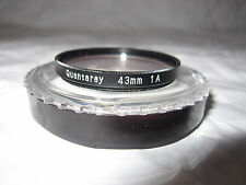 Quantaray 43 MM 1A Filter Lens (Made in Japan)