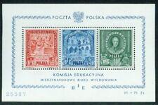 POLEN, 1946 BIE Block 9 **, (10171)