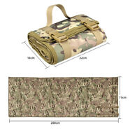 Roll Up Outdoor Tactical Shooting Mat Field Training Hunt Non-slip Camping Pad