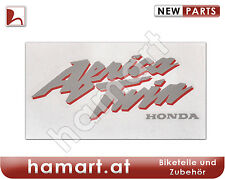 Aufkleber Africa Twin RD07 a Front silber rot Sticker silver red Honda XRV 750