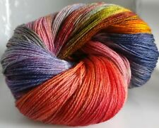 305g OF 3-PLY HAND-DYED 100% KNITTING WOOL* 3 SKEINS * CW - GRACIELA