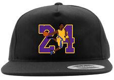 Los Angeles Lakers Kobe Bryant 24 Snapback Hat