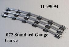 MTH LIONEL CORPORATION 072 STANDARD GAUGE TUBULAR TRACK STD-72 CURVE 11-99094