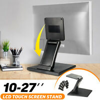 10-27'' Universal VESA 100mm Monitor Base POS Stand LCD Touchscreen Holder