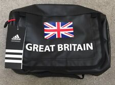 ADIDAS TEAM GB SOCHI 2014 WASH KIT BAG - BLACK - ATHLETE ISSUE - BRAND NEW