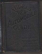1939 BOOK - AUDELS NEW AUTOMOTIVE GUIDE FOR MECHANICS OPERATORS AND SERVICEMEN