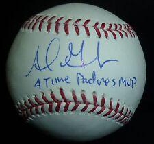 Adrian Gonzalez Signed Baseball Ball PSA/DNA COA Auto'd w/ 4x Padres MVP Insc SD