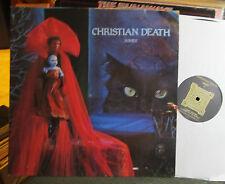 Christian Death Ashes 2 lp gate orig '85 france sd7 rozz williams goth rare WOW!