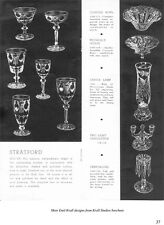 Krall Family of Glass Engravers-Heisey Cut Glass