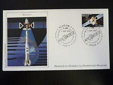 FRANCE PREMIER JOUR FDC YVERT  2333   TELECOM 1      3,20F  PARIS   1984
