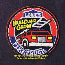 LMH PATCH Badge FIRE TRUCK Firetruck Engine Ladder  LOWES Build Grow Kids Clinic