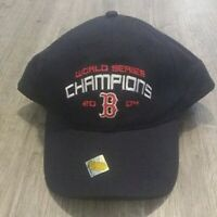2004 World Series Champions Boston Red Sox  Strapback Hat Cap*