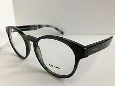 New PRADA VPR 1T6 USI-1O1 50mm Round Gray Eyeglasses Frame #5