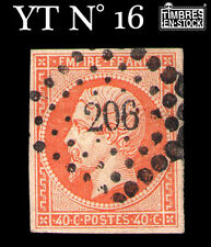 YT N°16 : NAPOLÉON 40 CENTIMES ORANGE !!!