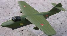 PSN-1 Nikitin Russia Research Airplane Wood Model Replica Small Free Shipping