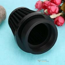 Universal 60mm Air Intake Filter Cleaner for Racing Car Motorcycle Black