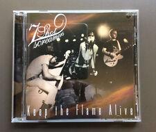 7 SHOT SCREAMERS - Keep The Flame Alive CD VG+ 13 Tracks Psychobilly Rockabilly
