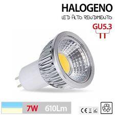 Halogeno LED GU5.3 bombilla lampara foco 3w 5w 7w BLANCO FRIO CALIDO