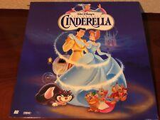 Laserdisc CINDERELLA The Most Celebrated Walt Disney Masterpiece 5265 AS LD Lot1