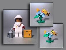 Lego Figuren Minifiguren - Imker Blumen ? Biene ? Garten