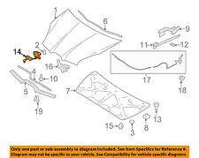 SUBARU OEM 06-07 B9 Tribeca Hood-Lock Latch Striker 57311XA01B