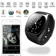 Stylish Bluetooth Anti Lost Smart Watch Phone Mate Black for Android SAMUNG