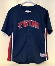 Minnesota Twins Johan Santana #57 TRUE FAN BASEBALL JERSEY Child XL 16/18 Sewn