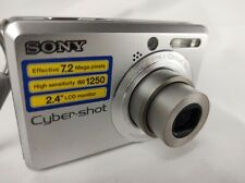 Sony Cyber-shot DSC-S730 7.2 MP Digital Camera Silver