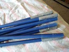 Tent Poles Fibreglass with elastic Spare Replacement Set 9 poles 470cm