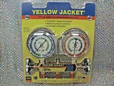 Yellow Jacket Ritchie Engineering Gauge Set 2 Valve Manifold R12 R22 R502
