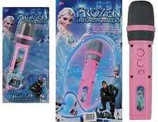 DIE EISKÖNIGIN FROZEN Mikrofon für Kinder Karaoke Spielzeug schnurlos Microphone