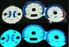 2002 2003 Subaru Impreza Wrx White Face Glow Gauges For Dash Instrument Cluster