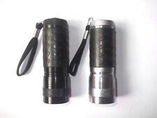 Metal Camping & Hiking Key Rings with 3 Batteries